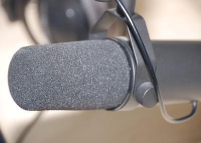 Funkhaus Würzburg Mikrofon