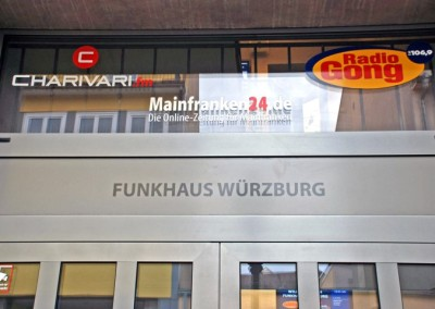 Funkhaus Würzburg Eingang