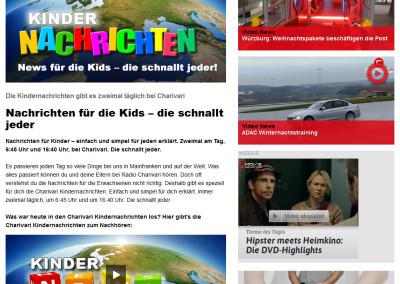 Charivari Homepage: Der Service