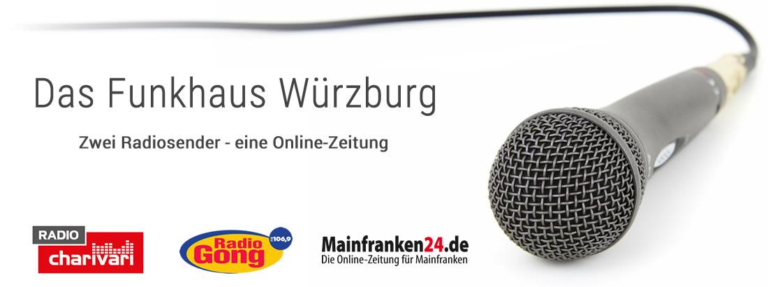 Funkhaus Würzburg: Zwei Radiosender - eine Online-Zeitung