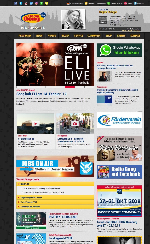 Charivari Homepage: Die Startseite