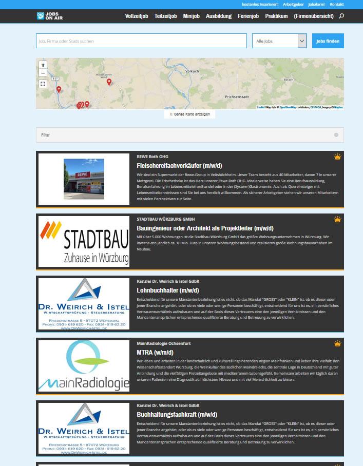 Mainfranken24.de Homepage: Die Startseite