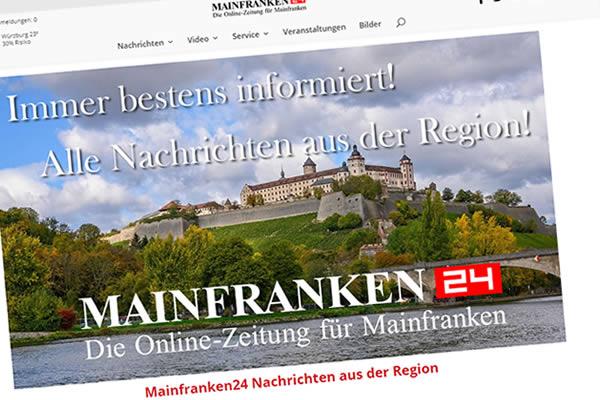 Internetseite www.mainfranken24.de